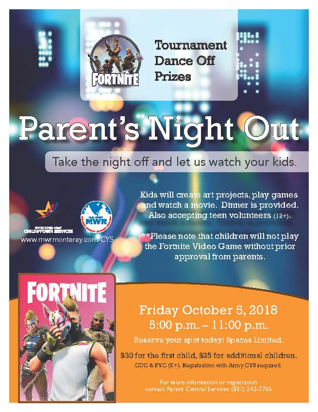 Fortnite- Parent's Night Out