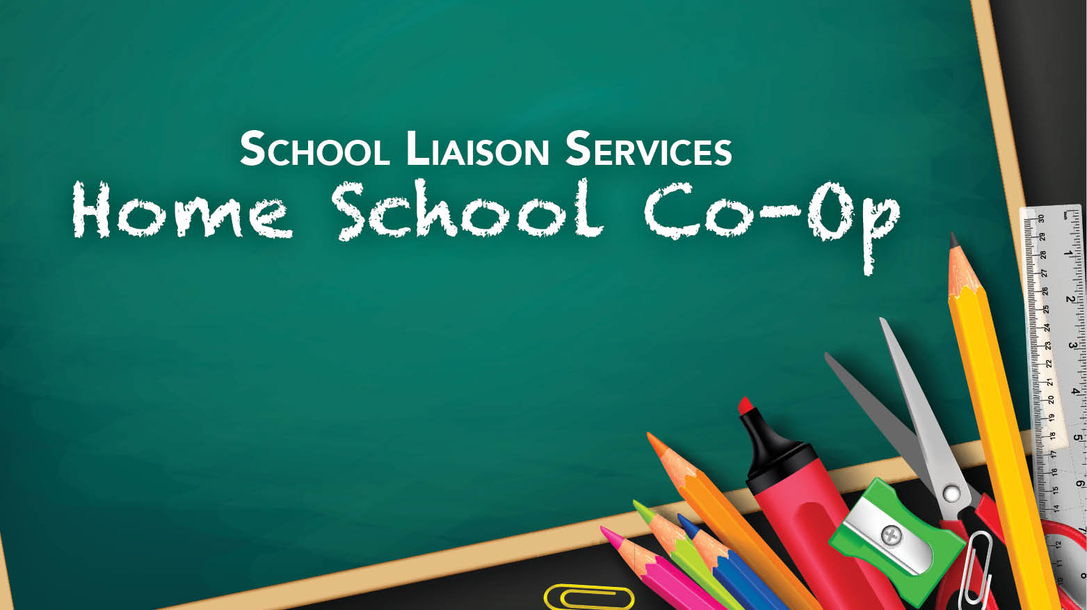 School Liaison Services Home School Co-Op