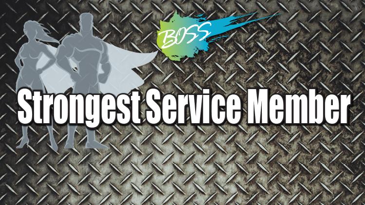 Presidio's Strongest Service Member