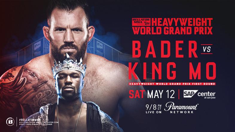 Bellator Mixed Martial Arts: Bader vs. King Mo