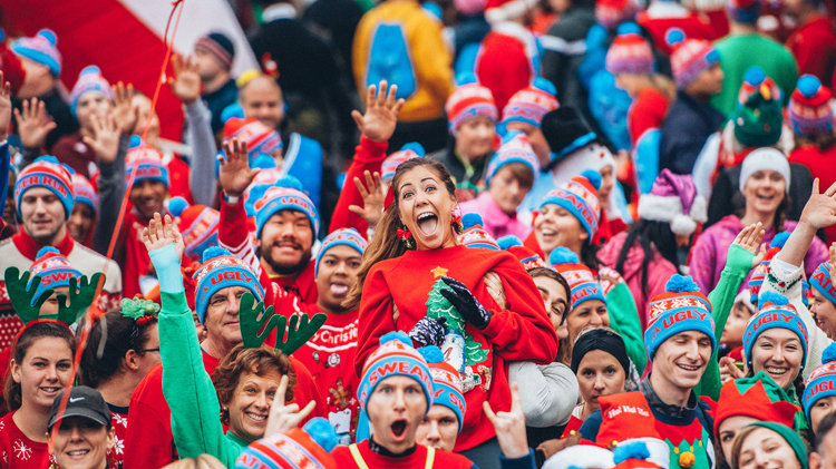 PYC- Holiday Sweater Dress-Up