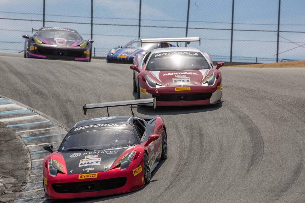 US Army MWR :: Ferrari Challenge Mazda Raceway Laguna Seca