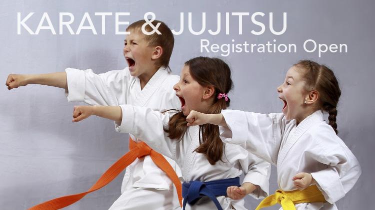 Karate & Jujitsu Registration